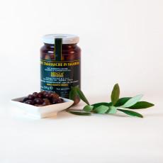 Ligurische Taggiasca Oliven in Salzlake 200g