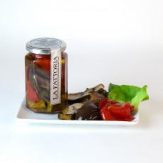 Tris di Verdure - Gemüse-Antipasti in Olivenöl 300 g