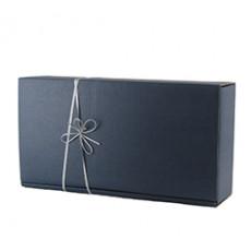 k22 Geschenkkarton 2 Fl. blau