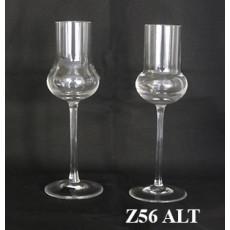 Grappa Glas - alte und neue Form