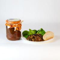 Caponata di Melanzane - sizilianisches Auberginen Gericht