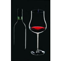 Grosses Rotweinglas (Pokal)l 2. Wahl