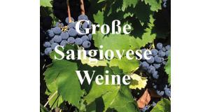 Große Sangiovese-Weine (3 FL.) ggf. + Fracht