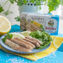 Makrelenfilets in Salzwasser mit Zitrone (Rizzoli) 125 g