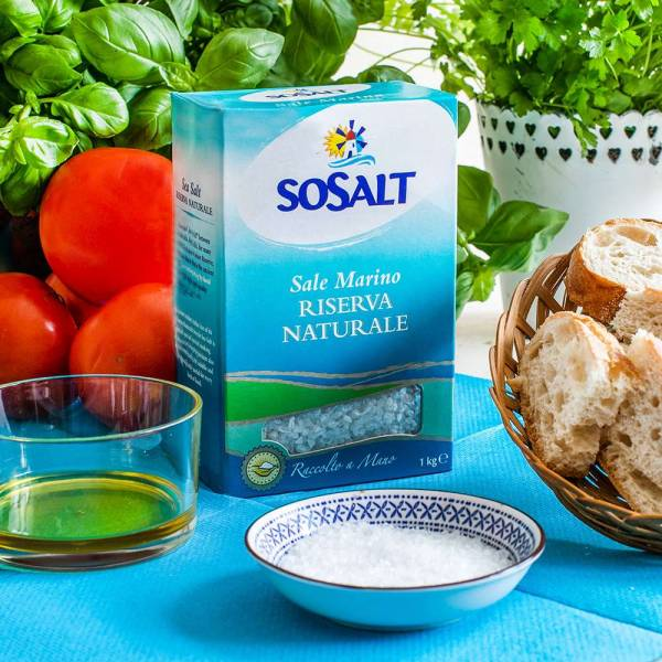Meersalz Riserva Naturale (Sosalt) 1 kg