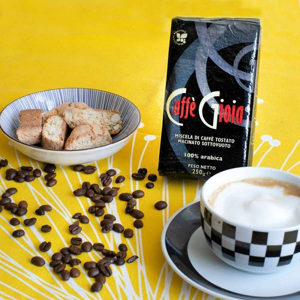 Caffè 100% Arabica (Gioia) 250 g gemahlen