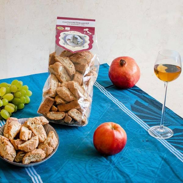 Cantuccini Toscani IGP alle Mandorle (Le Logge) 500 g