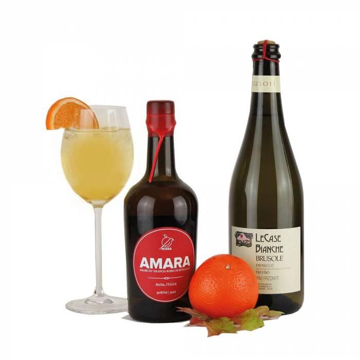 Amara-Mix mit Prosecco