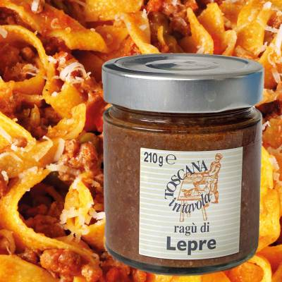 Ragu di Lepre - Hasenragout (Toscana in Tavola) 210 g
