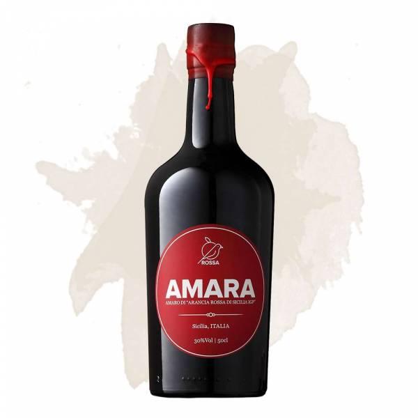 Amara d'Arancia Rossa - Orangenlikör (Rossa Sicily) 0,5 l