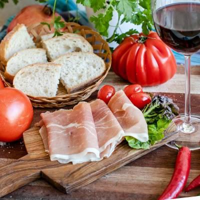 Prosciutto (DOK dallïAva) geschnitten 80 g