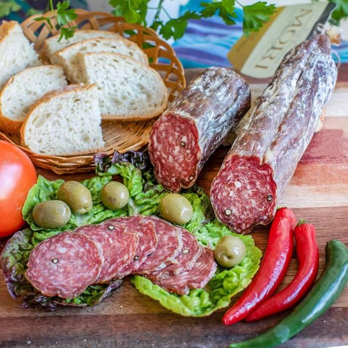 Salame di Cinghiale (Mori) > 400 g (Preis/St.)