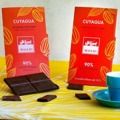 Cuyagua 90 % Cacao Criollo (Maglio) Tafel 80 g