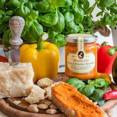Pesto di Peperoni e Mandorle (Donna Lisa) 190 g