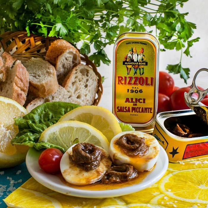 Sardellen in pikanter Soße (Rizzoli) 90 g
